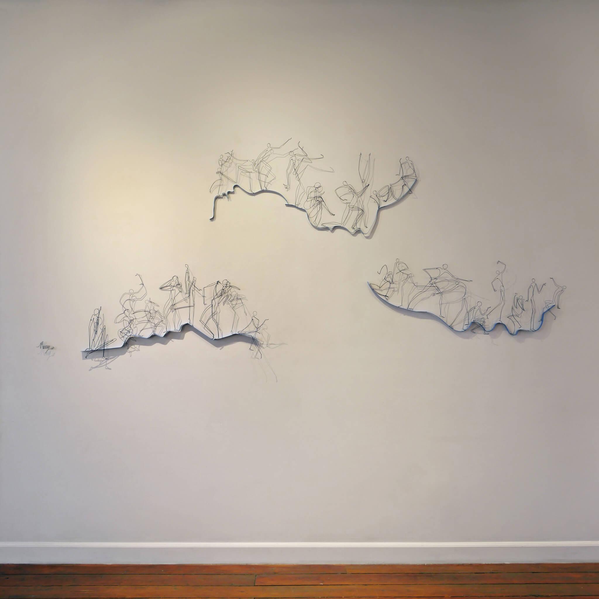 "Pamela Merory Dernham, Personal Landscape: ""In the Fresh Air"", 2017"
