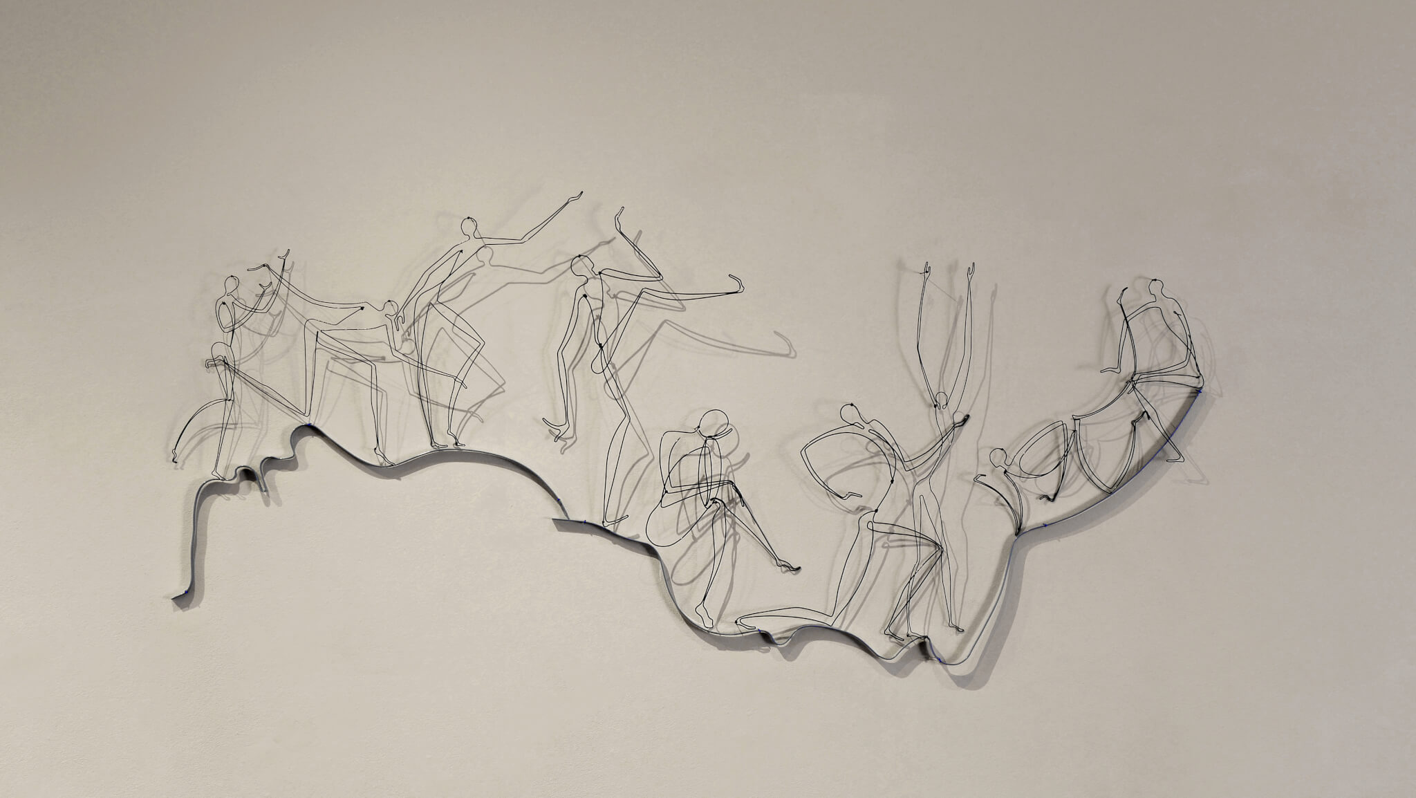 "Pamela Merory Dernham, Personal Landscape: ""In the Fresh Air"", 2017, detail 1"