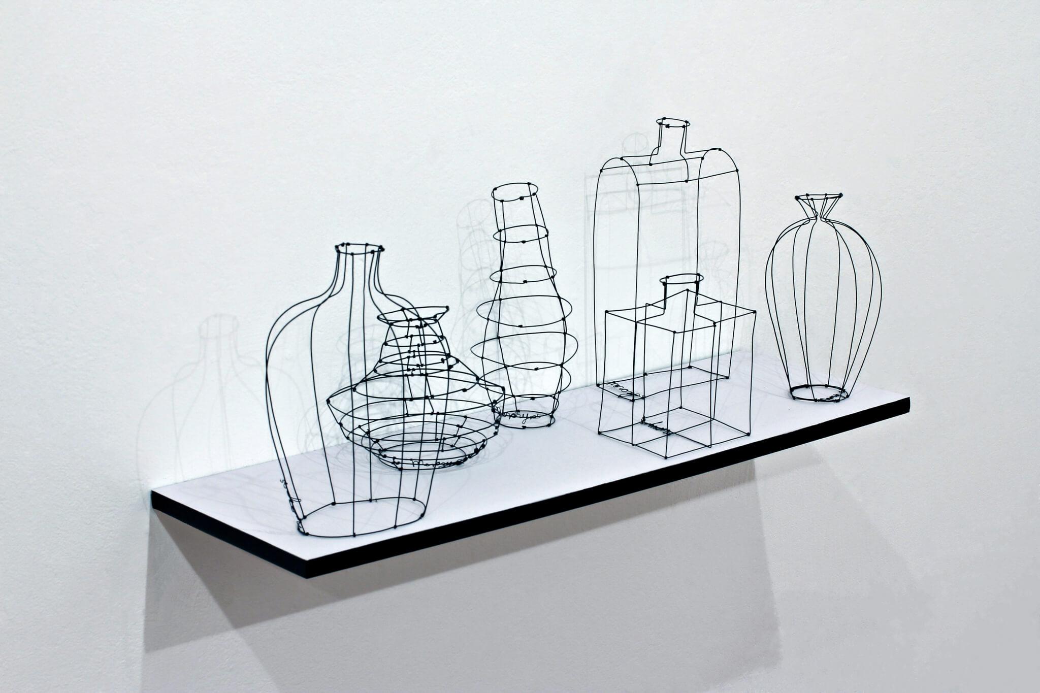 "Pamela Merory Dernham, ""Still Life No. 1: Quirky First"", 2011, angle"