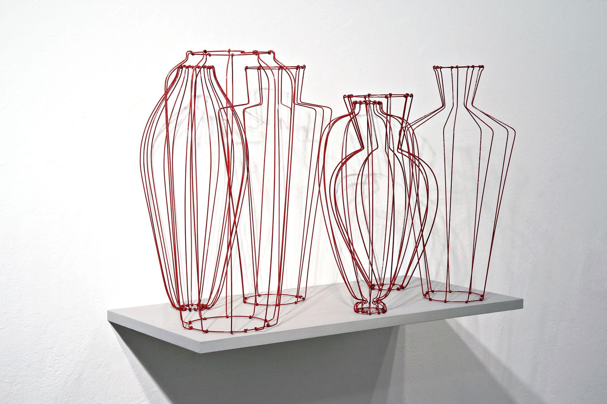 "Pamela Merory Dernham, ""Still Life No. 3: Red"", 2011, angle"
