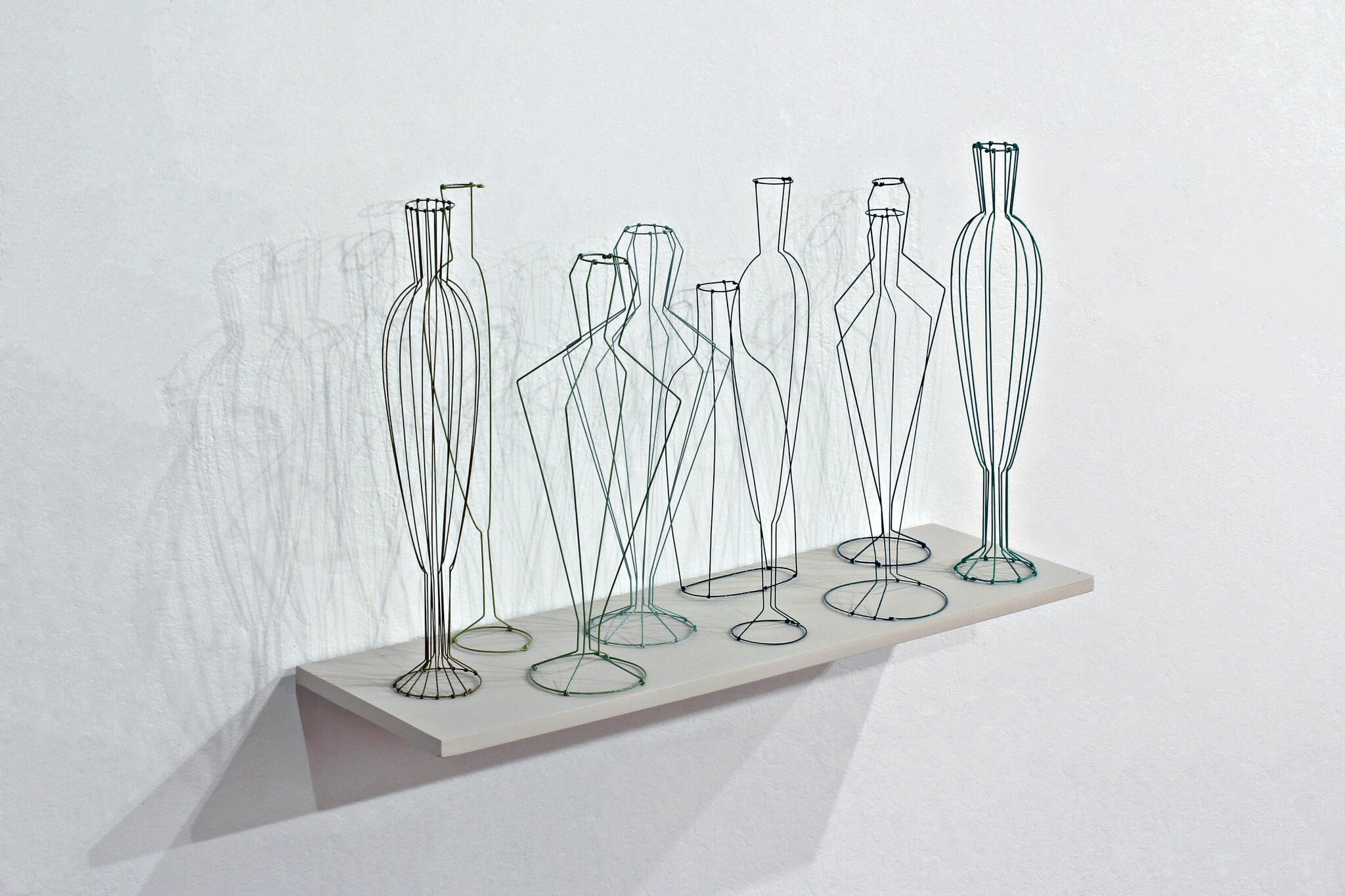 "Pamela Merory Dernham, ""Still Life No. 2: Thinking About the Moderns"", 2011, angle"