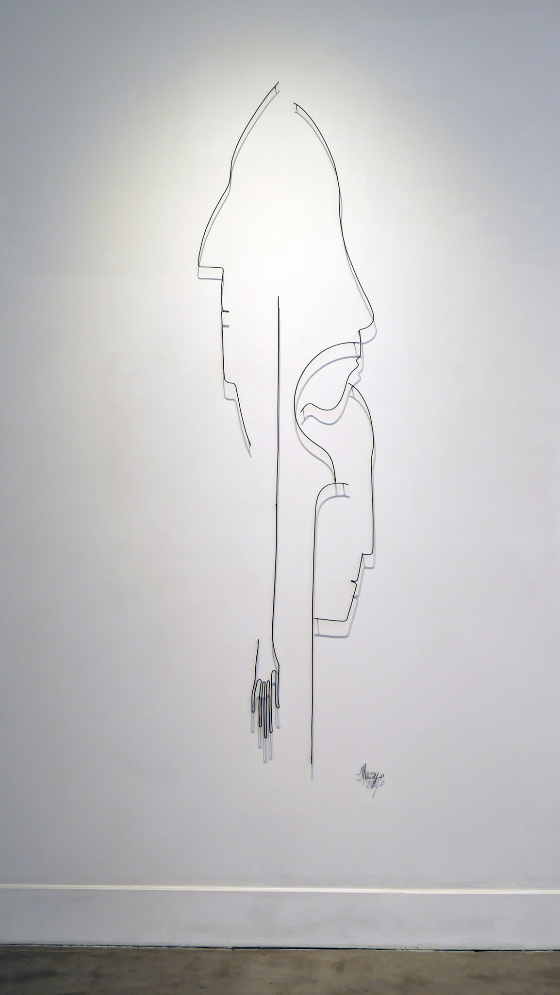 Pamela Merory Durnham, Detail of Vertical Landscape #1