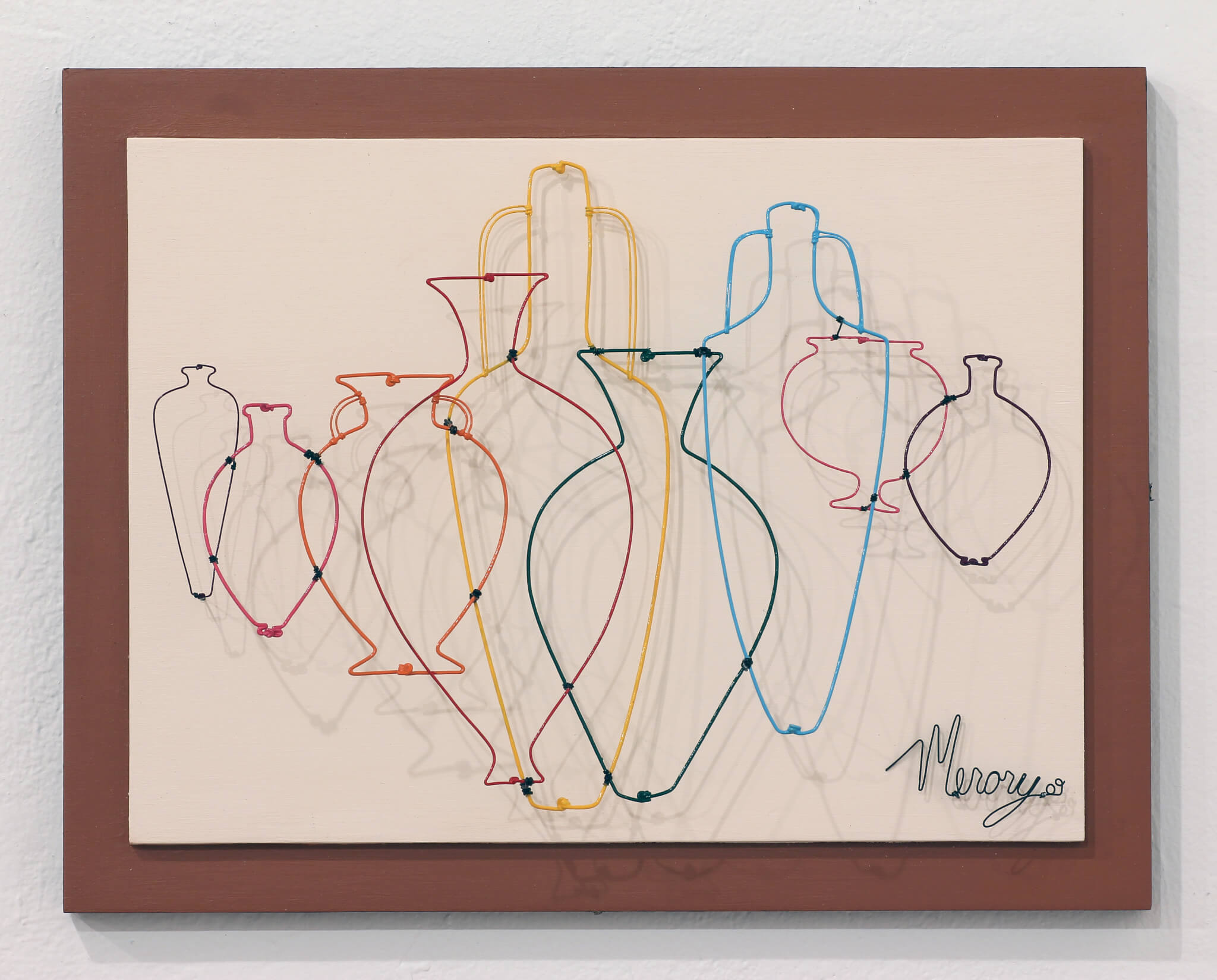 "Pamela Merory Dernham, ""Vessel Arrangement No. 1 for Mary Jo and Curt,"" 2009"