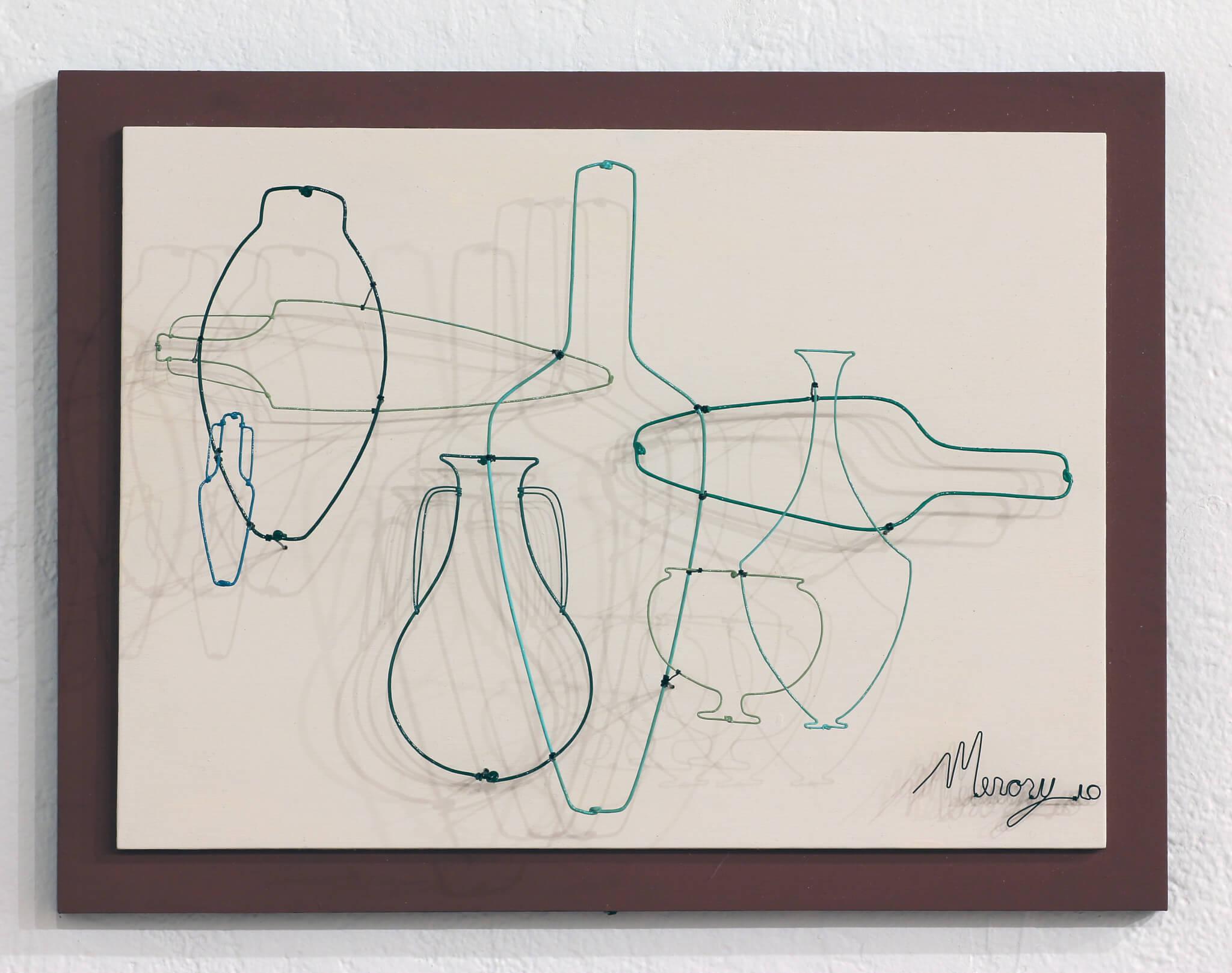"""Pamela Merory Dernham, """"Vessel Arrangement No. 2 in Ken's Green's"""", 2010"""