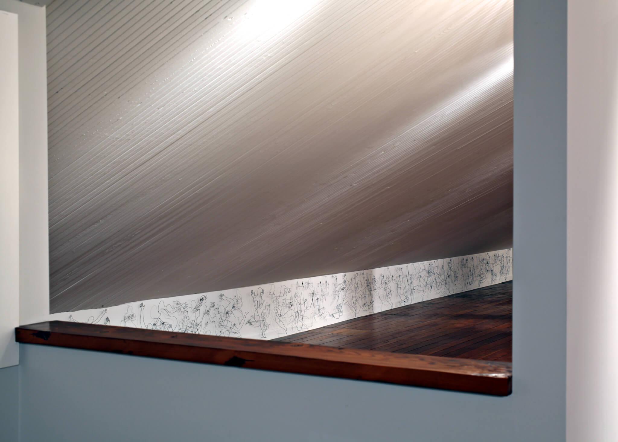 "Pamela Merory Dernham, ""Vessel Frieze"", 2011, installation view"